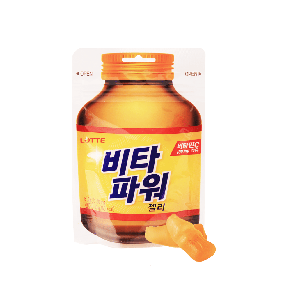 Lotte Vitamin C Jelly - 50g Snackoo