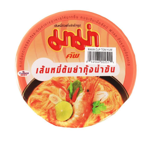 MAMA Shrimp Vermicelli Creamy Tom Yum Soup Snackoo