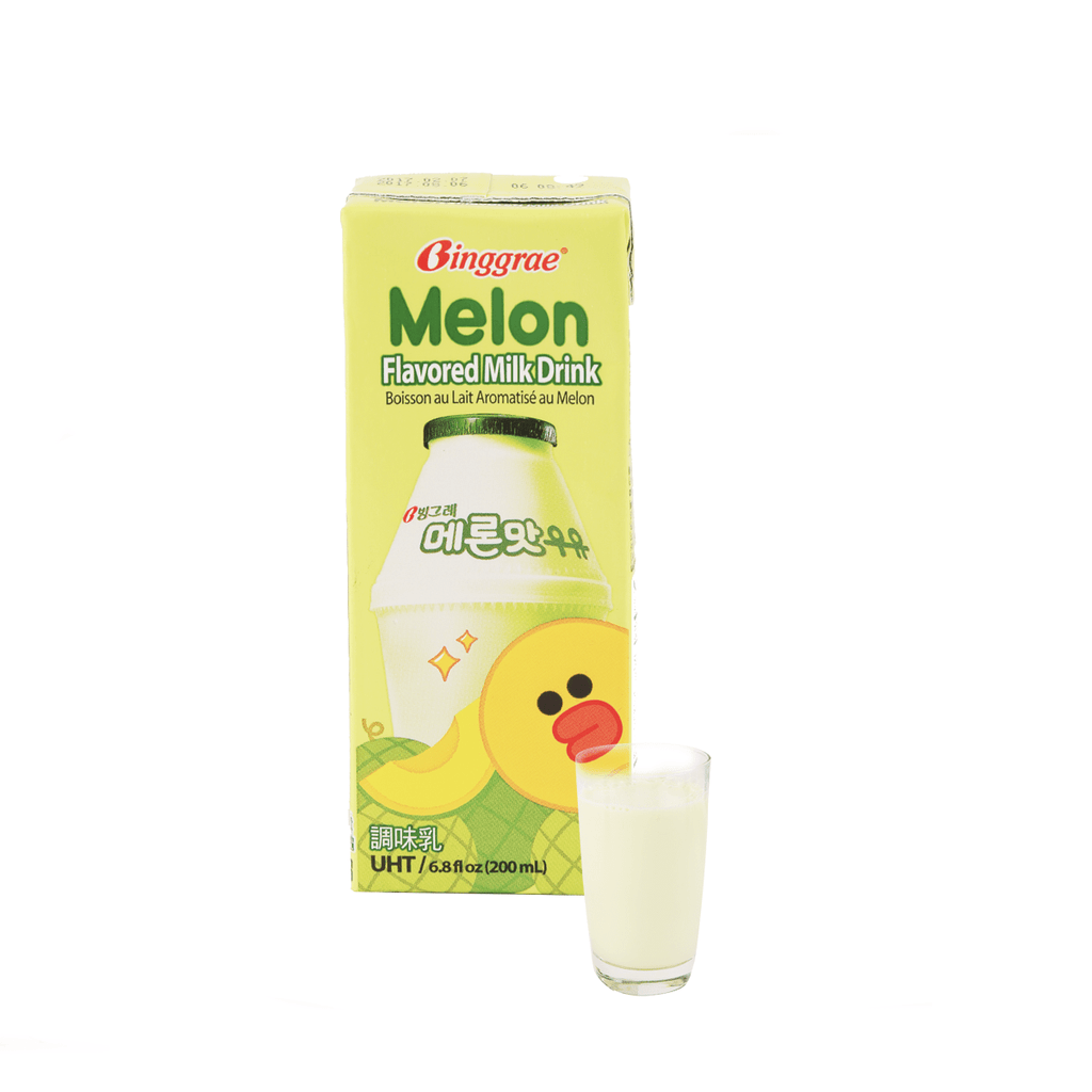 Melon Flavored Milk Drink - 200ml Snackoo