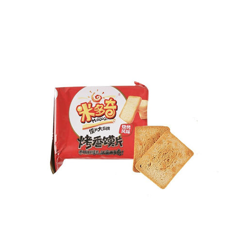 Miduoqi Toasted Bread Slice BBQ Flavor Snackoo