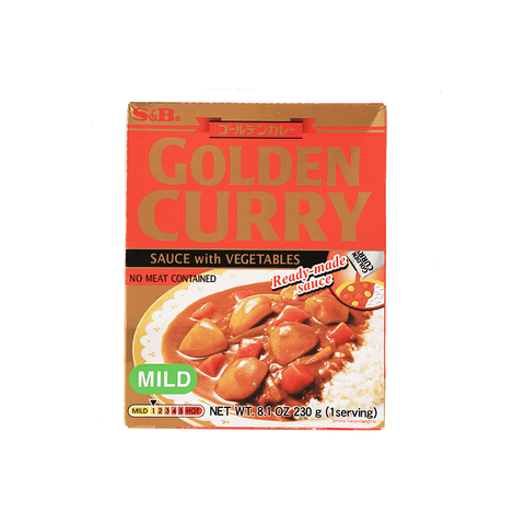 Mild Golden Curry with Vegetables - 230g Snackoo