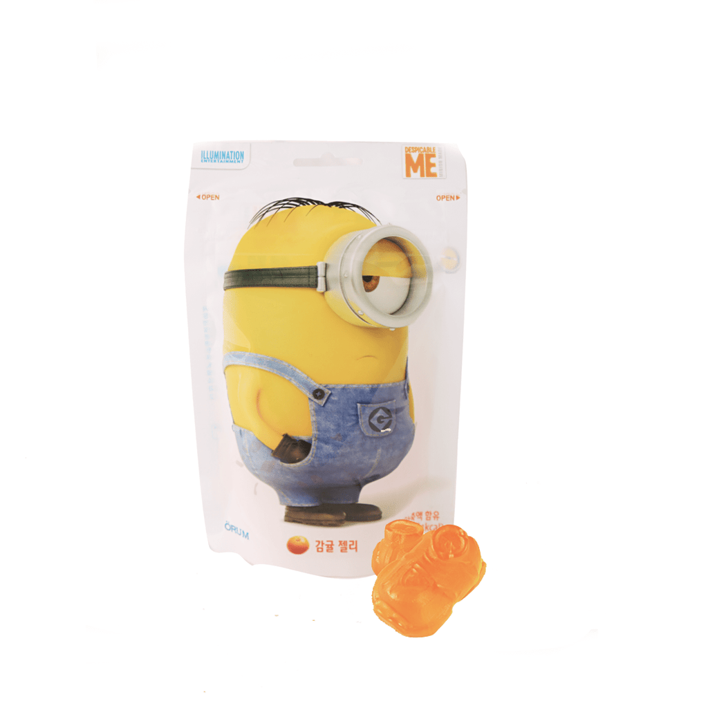 Minion Orange Flavored Jelly - 52g Snackoo
