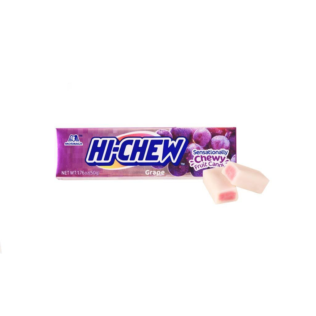 Morinaga Hi Chew Grape Flavor Snackoo