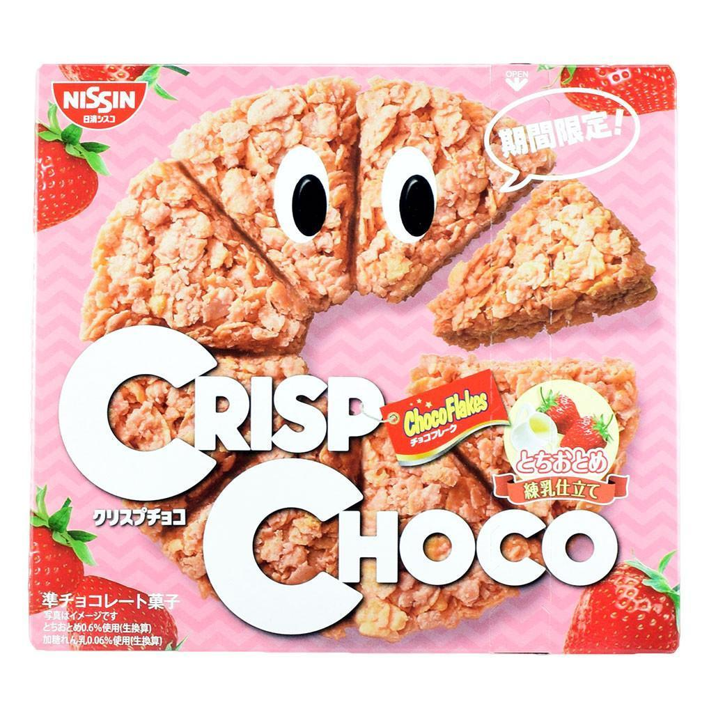 Nissin Crisp Choco Strawberry [Limited] Snackoo