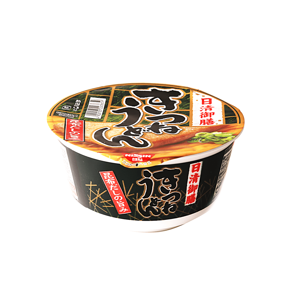 Nissin Kitsune Udon Cup Noodle - 80g Snackoo