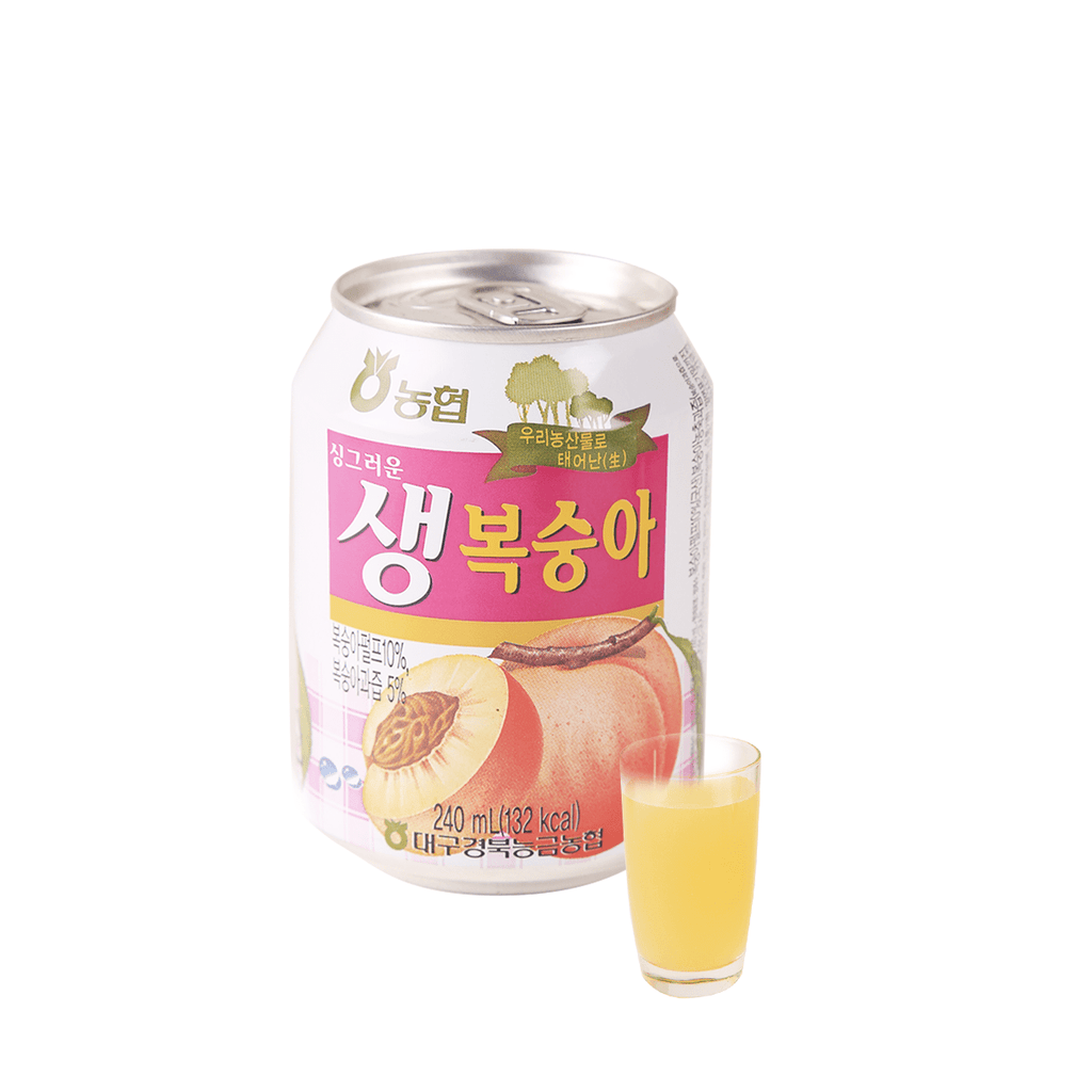 Nonghyup peach Juice - 240ml Snackoo