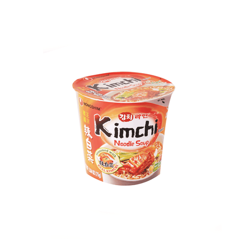 Nongshim Kimchi Cup Noodle - 75g Snackoo