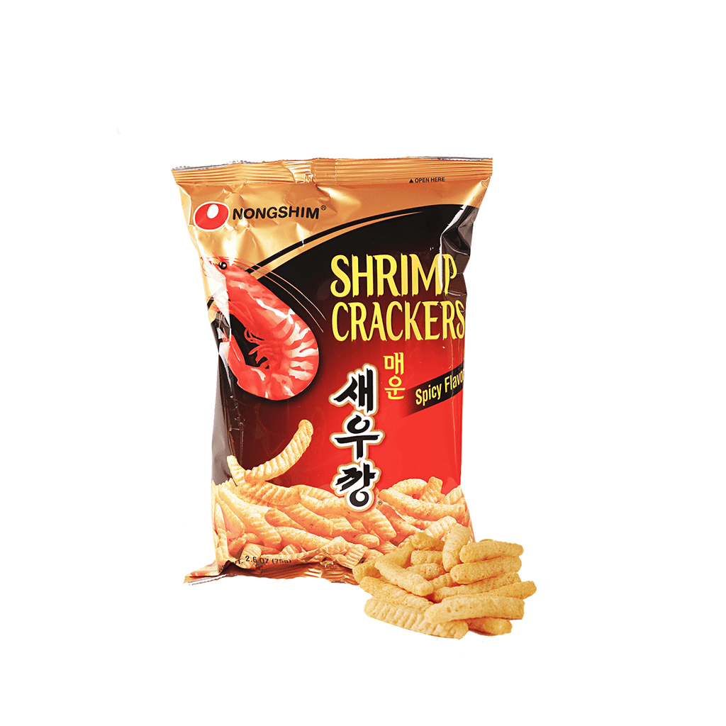 Nongshim Shrimp Cracker Spicy Flavor - 75g Snackoo