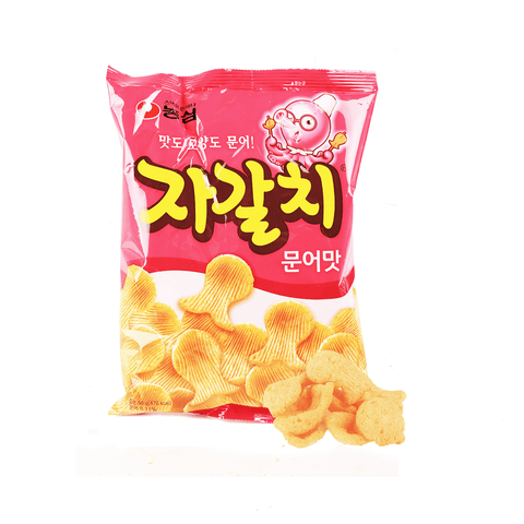 Nongshim Squid Flavored Cracker - 90g Snackoo