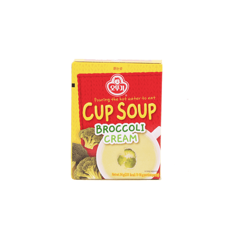 Ottogi Cup Soup Broccoli Cream - 54g Snackoo