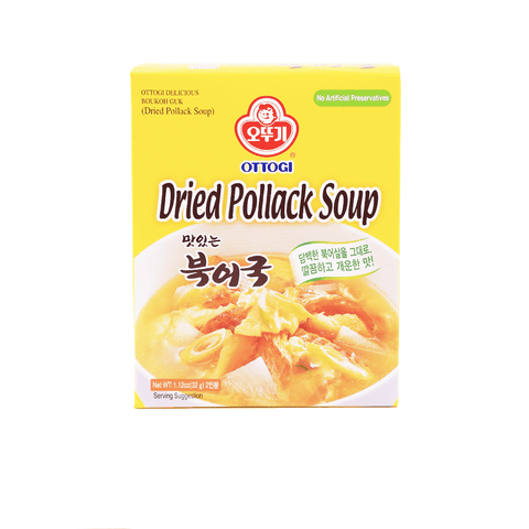 Ottogi Dried Pollack Soup- 32g Snackoo