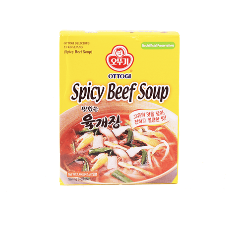 Ottogi Spicy Beef Soup - 42g Snackoo