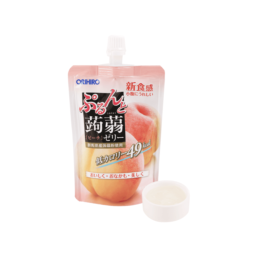 Peach Jelly Drink - 130g Snackoo