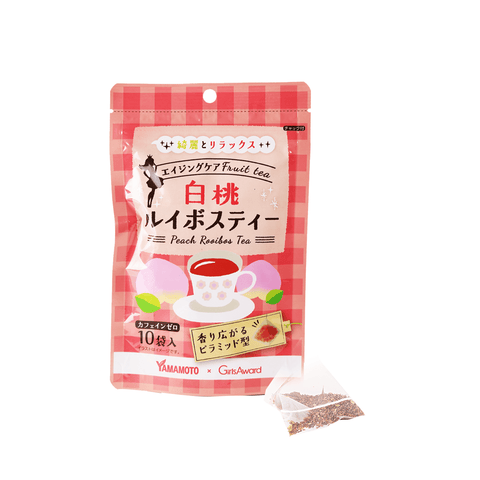 Peach Rooibos Herbal Tea Anti-Aging Snackoo