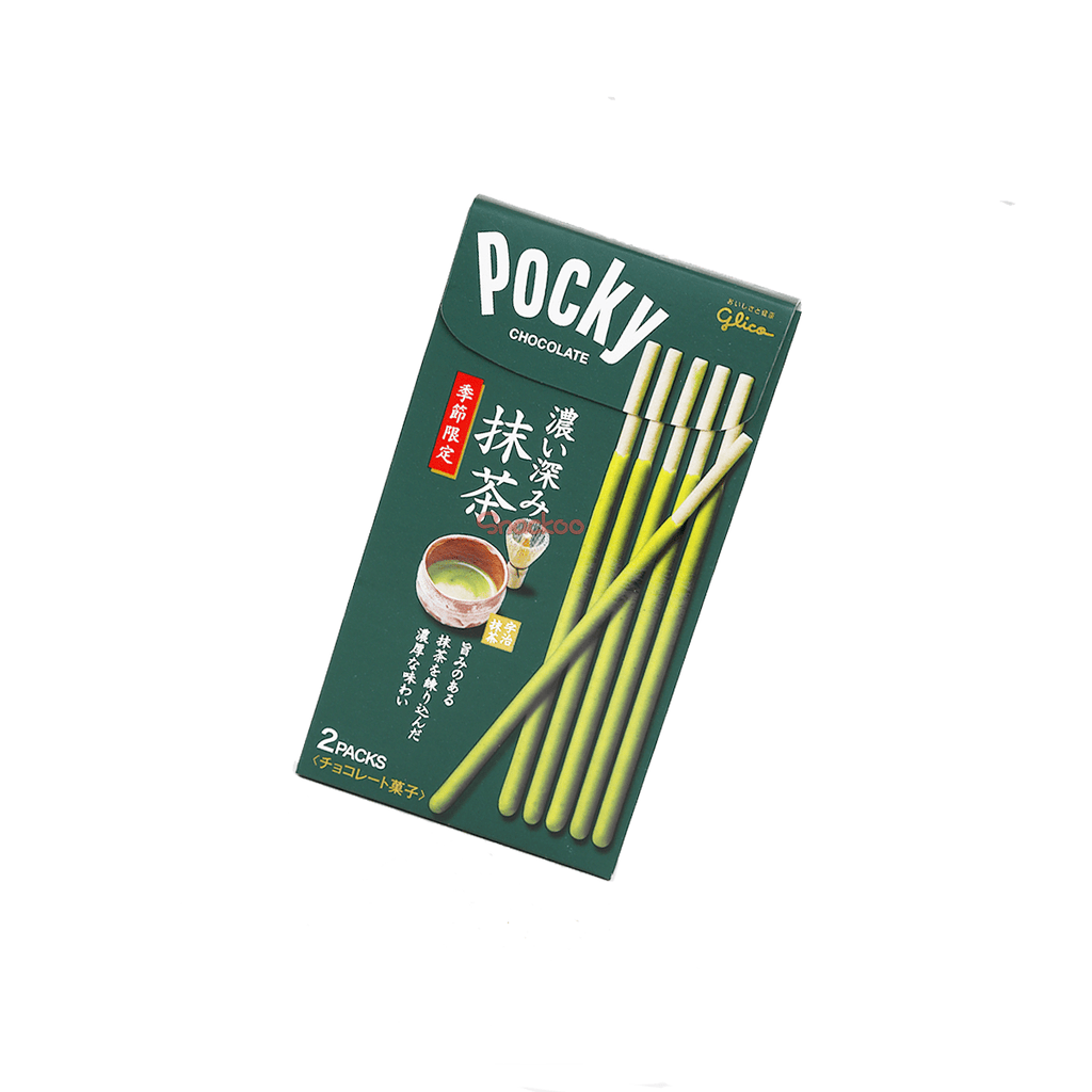 Pocky Double Rich Matcha Biscuit Sticks (Limited) - 2 PCS Snackoo