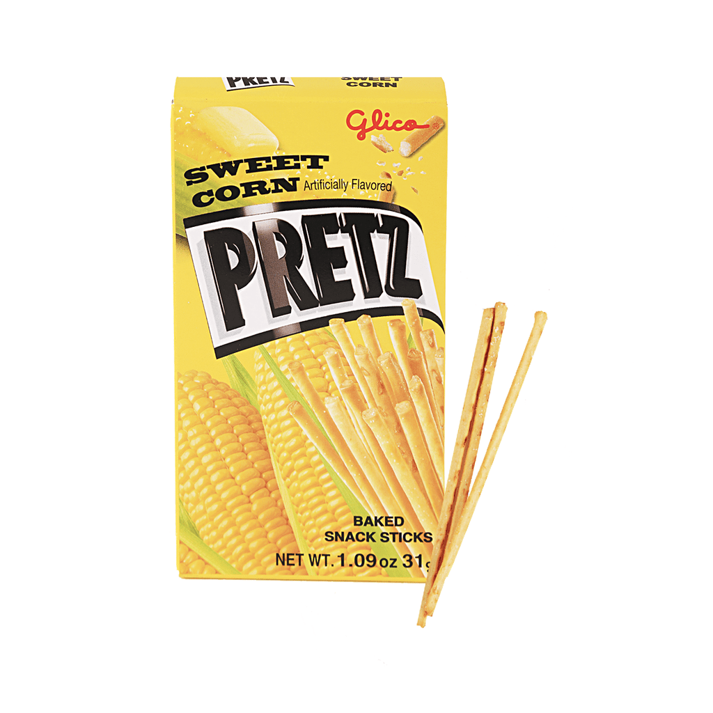 Pretz Sweet Corn Sticks - 31g Snackoo