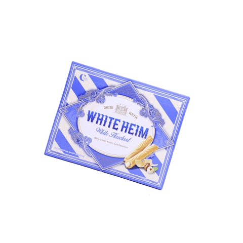 Romantic Heim White Cream Wafers with Hazelnuts - 284g Snackoo