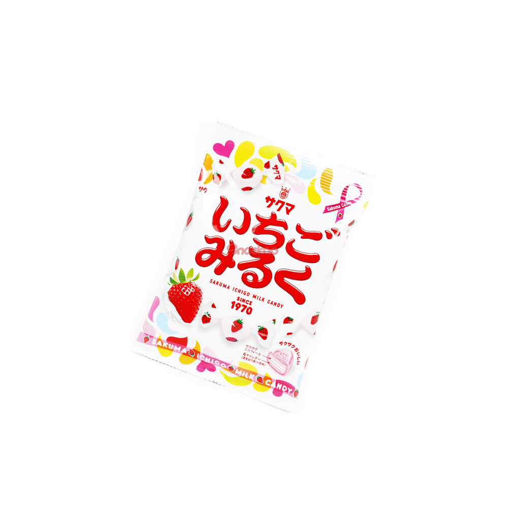 Sakuma Ichigo | Strawberry Milk Candy - 100g Snackoo