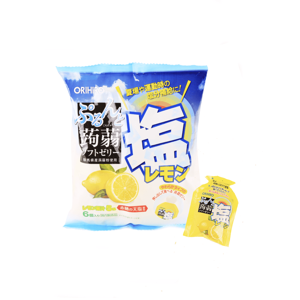 Salt Lemon Jelly Pouches [Summer Limited] - 6 PCS Snackoo