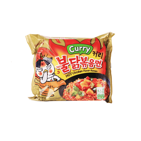 Samyang Hot Chicken Flavor Ramen Curry Flavored 140g Snackoo