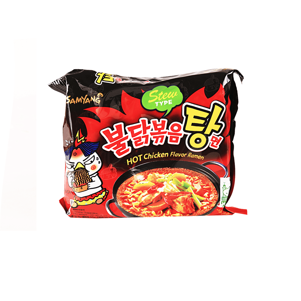 Samyang Hot Chicken Flavor Stew Ramen - 145g Snackoo
