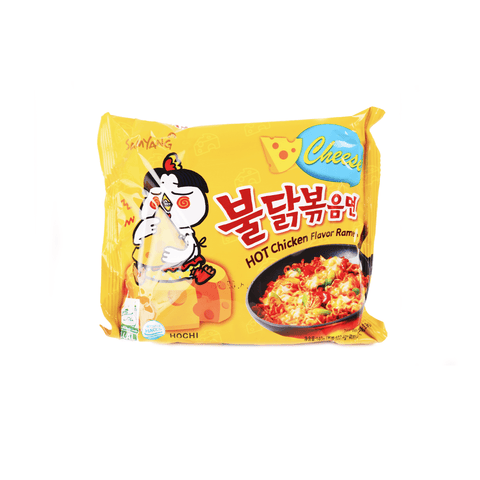 Samyang Hot Chicken Ramen Cheese - 140g Snackoo
