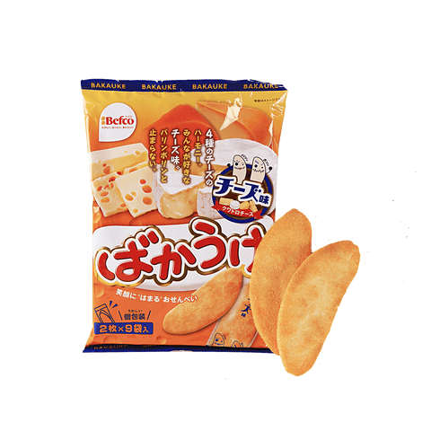 Seika Cheese Rice Cracker - 126g Snackoo