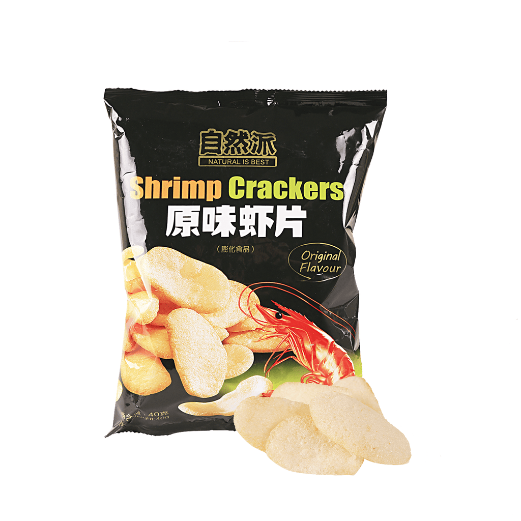 Shrimp Cracker Original Flavor - 40g Snackoo