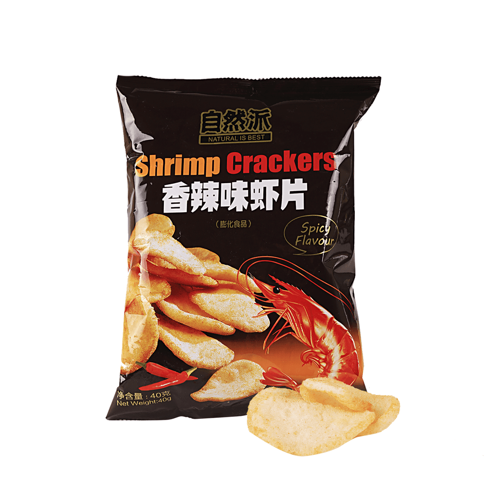 Shrimp Cracker Spicy Flavor - 40g Snackoo