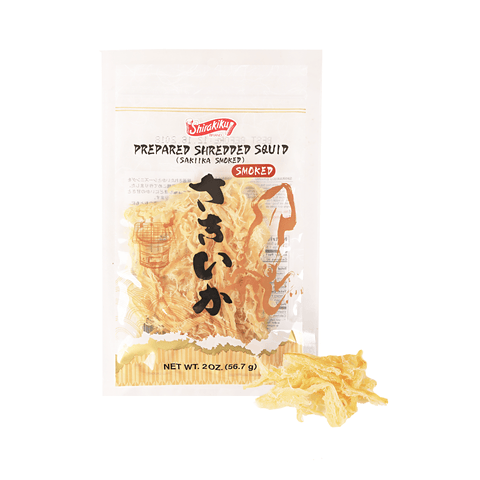 Smoked Shredded Squid - 57g Snackoo