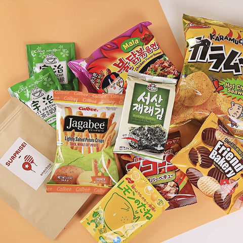 Snackoo Box: 3 Months Subscription. Gift. Snackoo