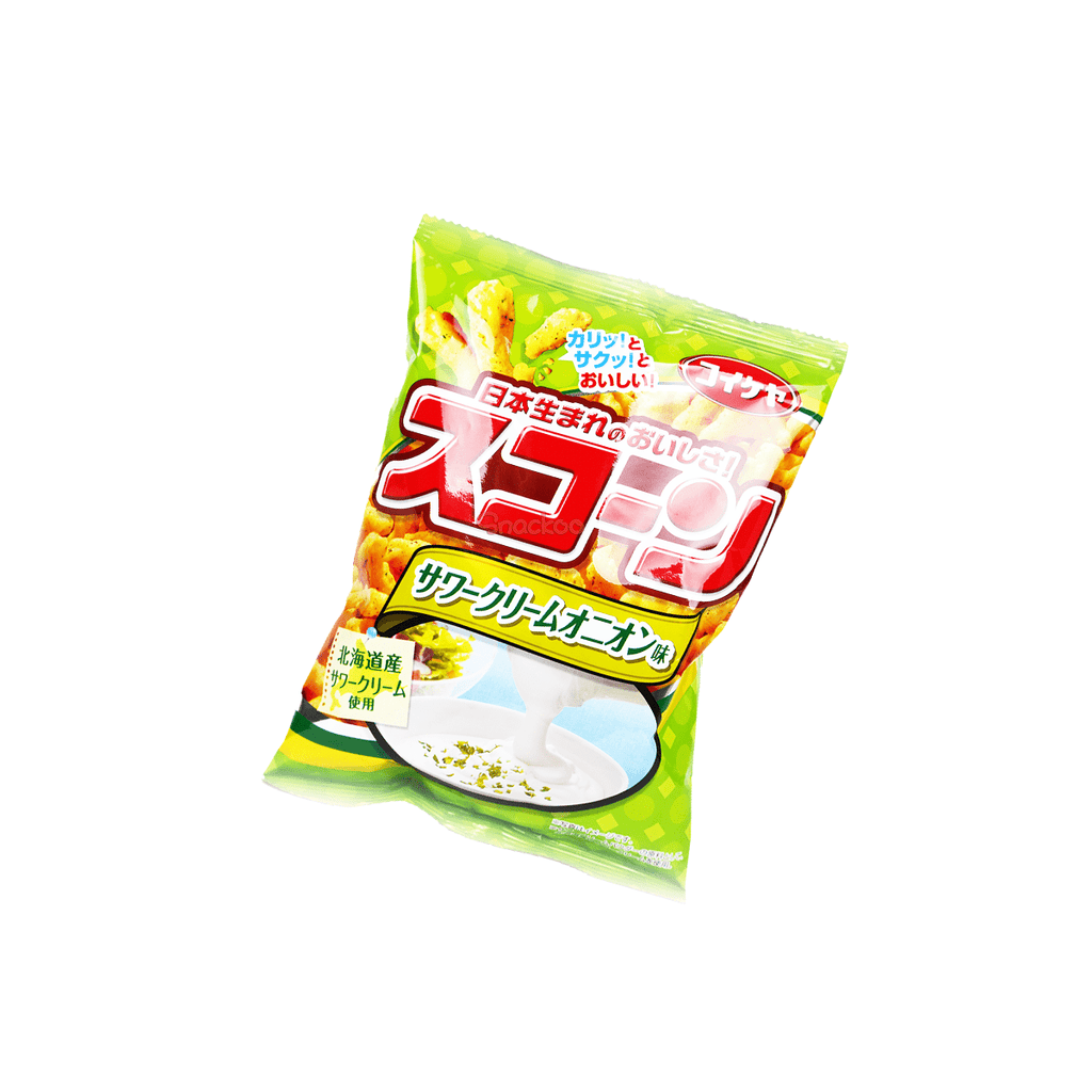 Sour Cream Corn Snack - 75g Snackoo