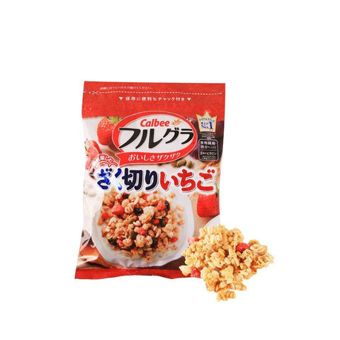 Strawberry Granola - 200g Snackoo