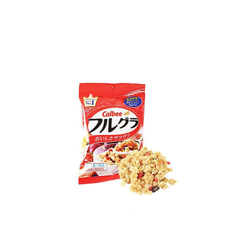 Strawberry Granola - 50g Snackoo