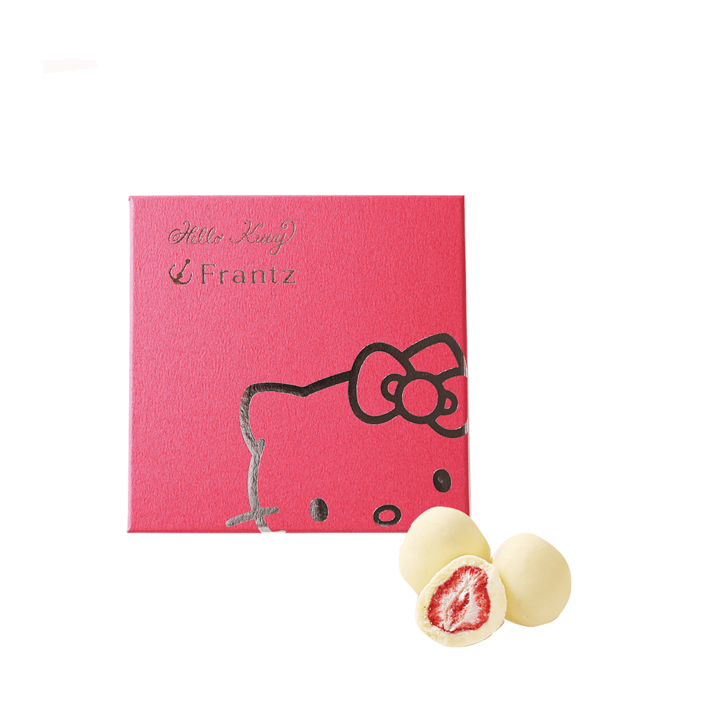 Strawberry White Chocolate Truffle [LlMITED] - 90g Snackoo