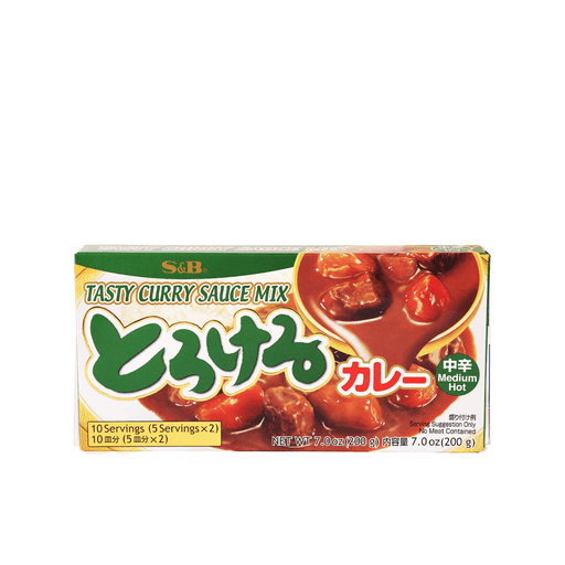 Tasty Curry Sauce Mix Medium Hot- 200g Snackoo