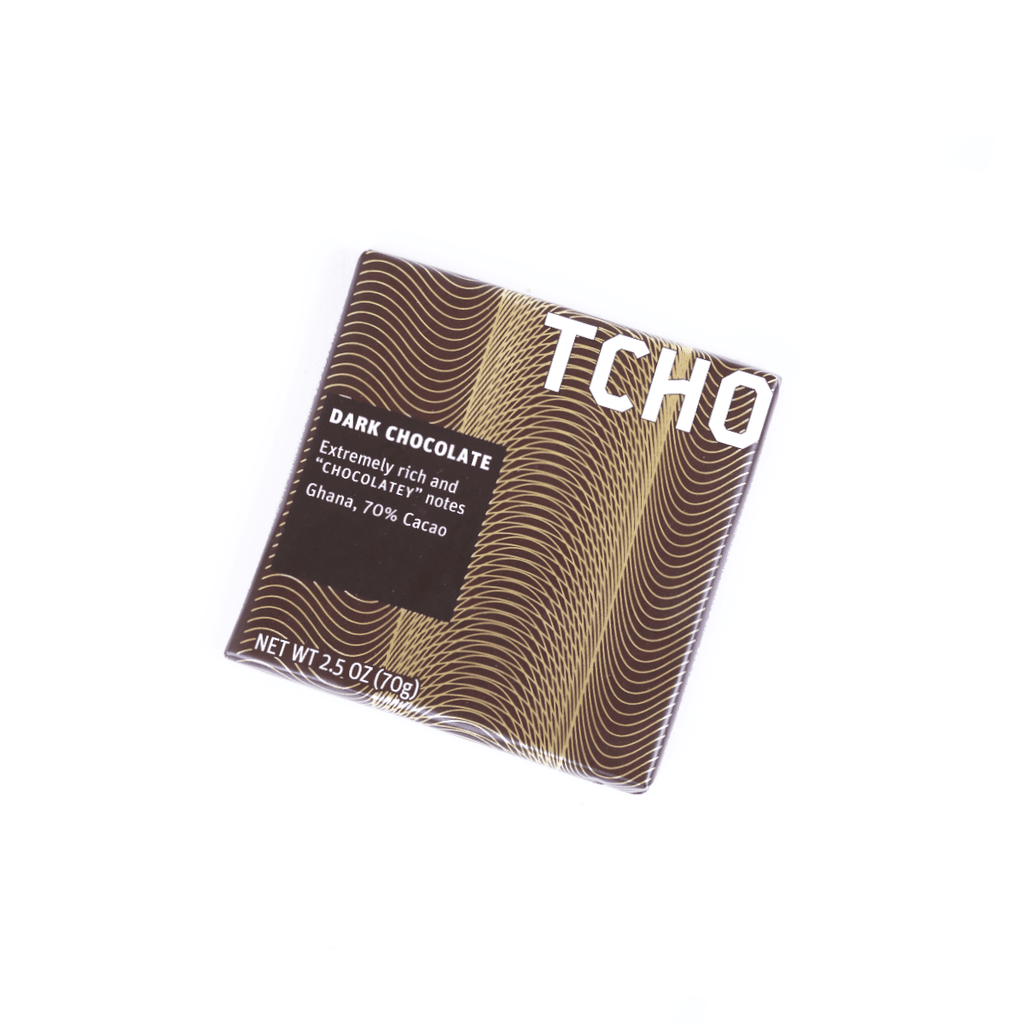 Tcho Dark Chocolate Chocolatey - 70g Snackoo