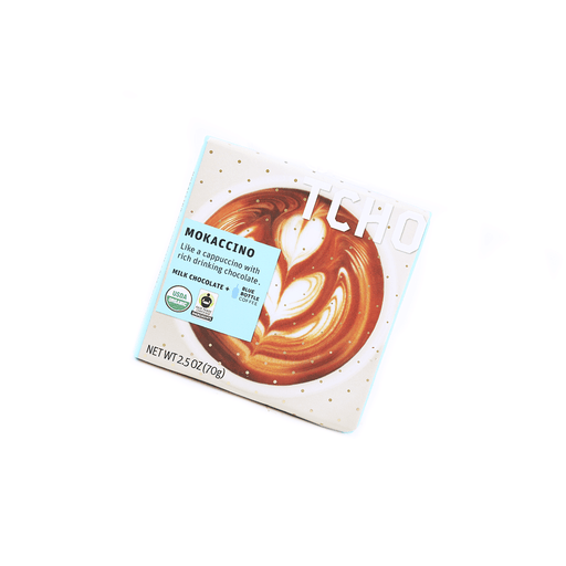 Tcho Milk Chocolate Blue Bottle Coffee - 70g Snackoo