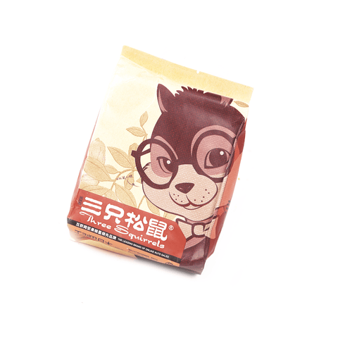 Three Squirrels Roasted Almond Inshell - 235g Snackoo