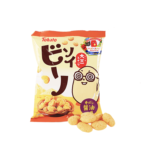 Tohato Baked Soy Sauce Cracker - 70g Snackoo