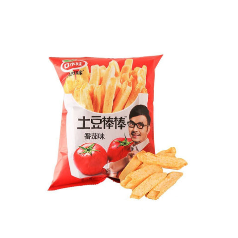 Tomato Flavored Potato Fries - 35g Snackoo