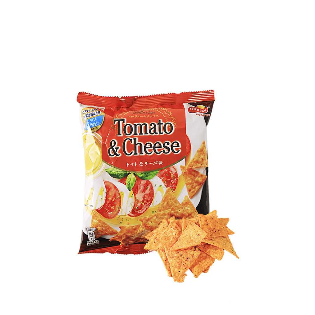 Tortilla Chips Tomato and Cheese Flavor - 68g Snackoo