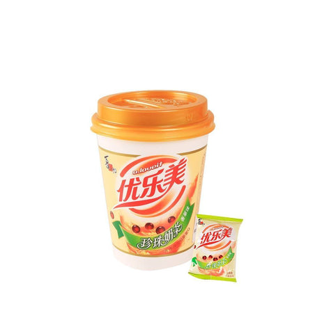 U.LOVEIT Vanilla Flavored Milk Tea With Pearl Snackoo