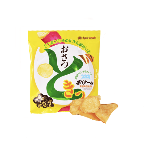 UHA Salt Butter Chip - 65g Snackoo