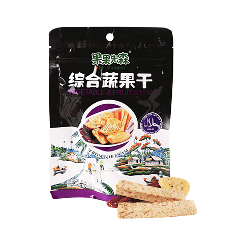 Vegetable & Fruit Stem - 50g Snackoo