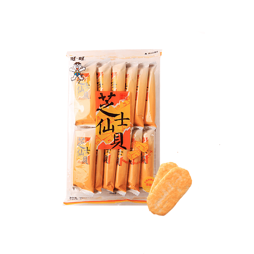 Want Want Hot Kid Cheese Rice Cracker-70g Snackoo