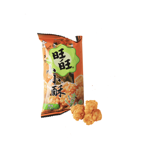 Want Want Mini Rice Cracker Original Flavor Snackoo