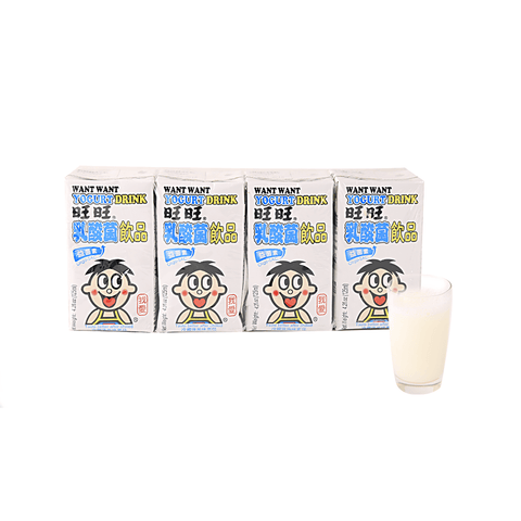 Want Want Yogurt Drink - 4 PCS Snackoo