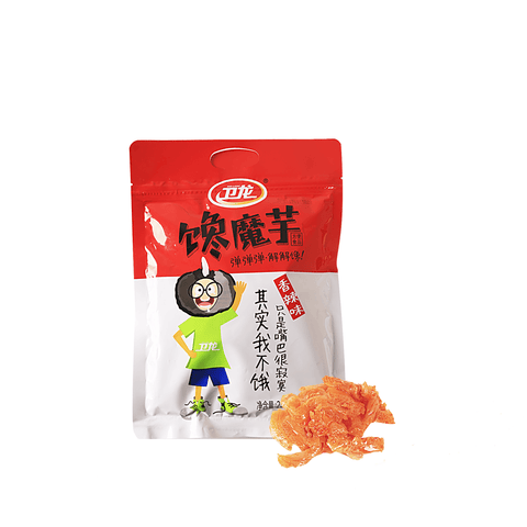 Weilong ChanMoYu Spicy Konjac Snack - 10 PCS Snackoo