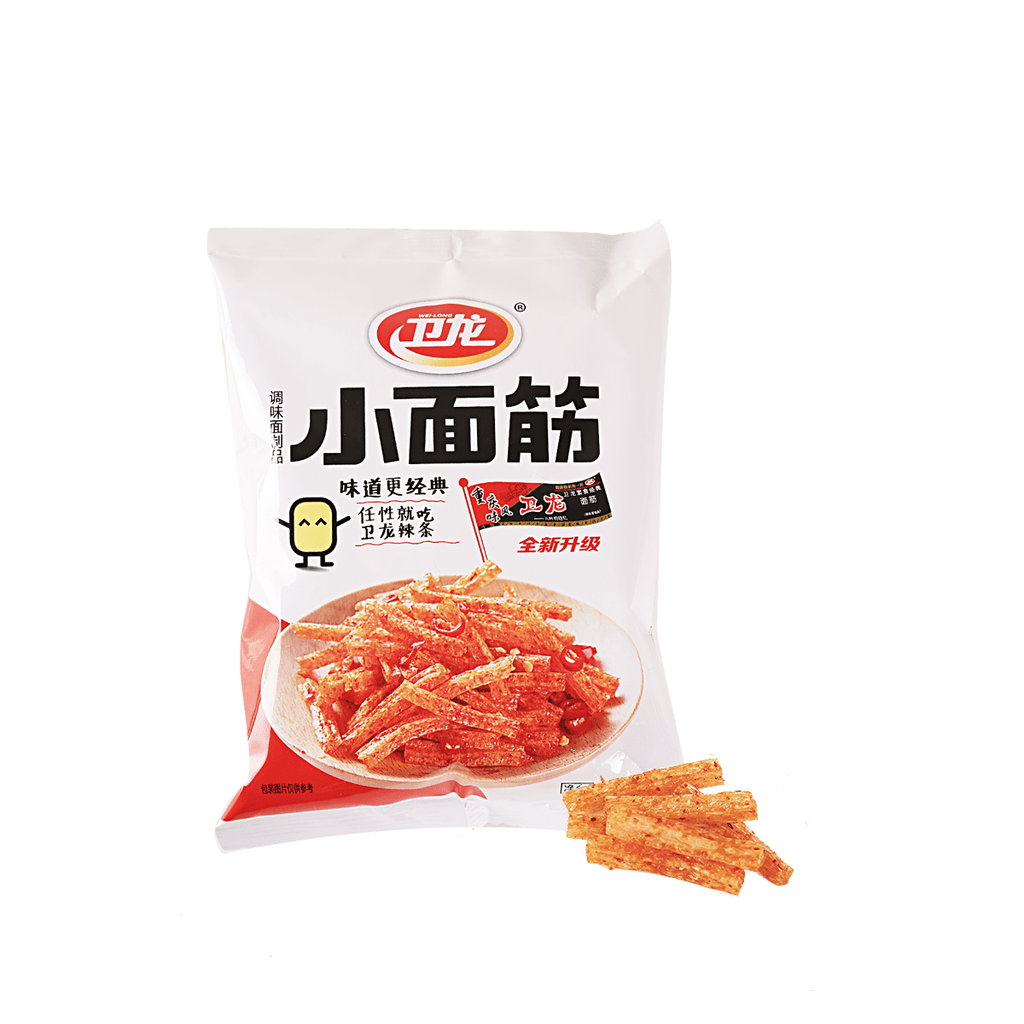 Weilong Latiao Spicy Mini Gluten - 40g Snackoo